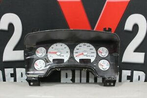 2005 Dodge Ram Srt 10 Truck Automatic Gauge Speedometer Instrument Cluster