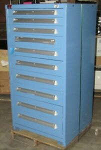 New Lyon 10 drawer Tool Parts Storage Cabinet scratch And Dent