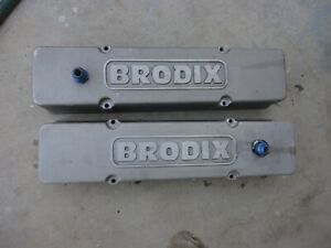 Sbc Brodix Valve Covers