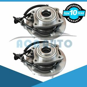 2 Front Wheel Bearing Set For 2008 2017 Chrysler Town Country Grand Caravan