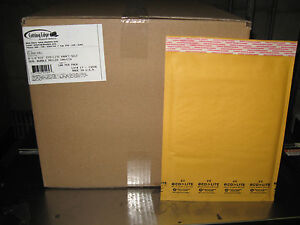 100 2 Ecolite Kraft Bubble Mailers 8 5 X 12 W Free Shipping New Price