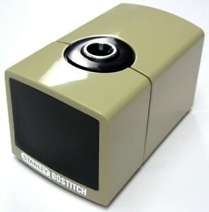 Rare Vintage Stanley Bostich 9442 Battery Powered Table Pencil Sharpener