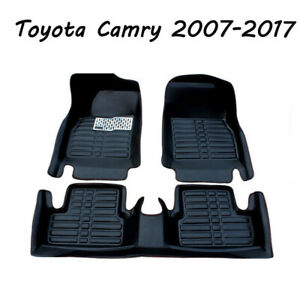 Car Floor Mats Front Rear Liner Waterproof Mat Fits For Toyota Camry 2007 2011
