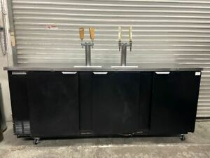 3 Door Kegerator Beer Back Bar Cooler Refrigerator Beverage Air Dd 94 1 b 4117