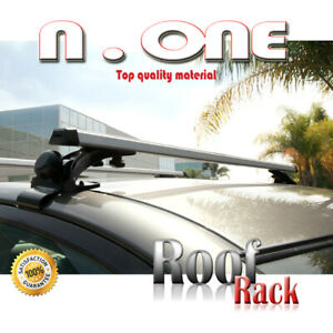 Roof Rack Cross Bar Top Mount Luggage Holder Cargo Carrier Fit Nissan Toyota Vw