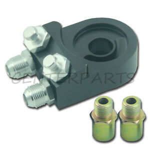 Fit Ford Chevrolet Universal Oil Filter An10 Cooler Thread Plate Adapter Kit