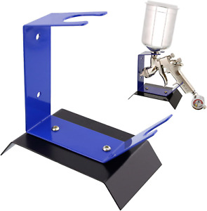 Gravity Feed Spray Gun Holder Stand Holds Auto Paint