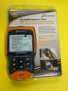 Actron Cp9695 Autoscanner Pro Obd Ii Scan Tool All 1996 And Newer Vehicles New