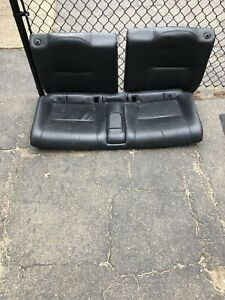 2005 2006 Acura Rsx Black Back Rear Leather Seats