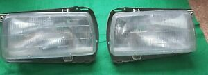 Hella 1985 1986 Jetta Gti Left And Right Headlights W Frame Made In Germany