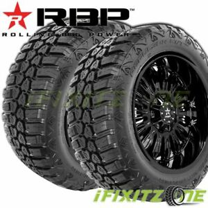 2 Rbp Repulsor M T Rx 265 70r17lt 121 118q E 10 All Season Jeep Truck Mud Tires