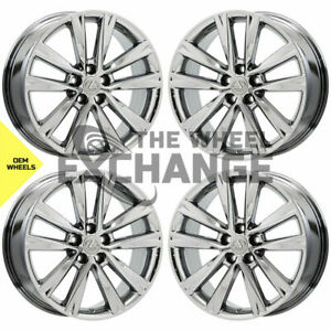 19 Lexus Rx350 Rx450 F Sport Pvd Chrome Wheels Rims Factory Oem Set 4 74279