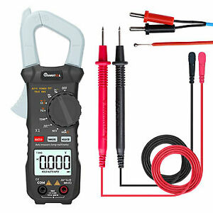Mustool X1 Pocket 6000 Counts True Rms Clamp Meter Ac dc Voltage