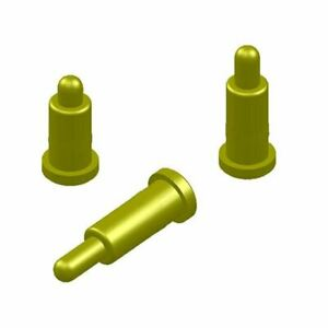 100x Gold Plating Copper H5 5mm Spring Thimble Pogo Pins Probes Connector Smd