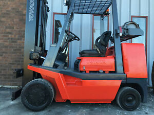 Toyota Fgc35 8000lb Cushion Tire Forklift Lifttruck Lease 164