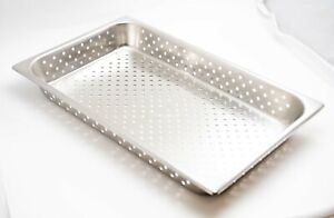 Stainless Steel Perforated Medical Instrument Tray 21 3 4 X 12 1 2 X 3