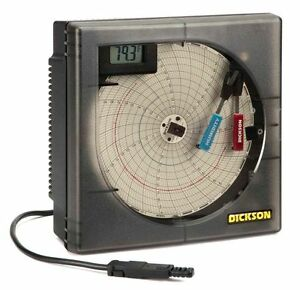 Dickson Circular Recorder Temperature And Humidity 6 Chart 1 Or 7 Day