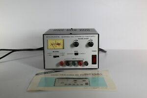 Micronta 22 121 Adjustable Dual tracking Dc Power Supply With Manual