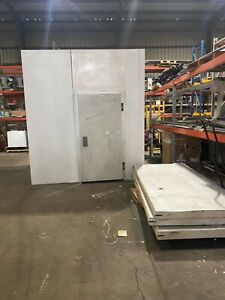 Used Walk in Cooler 8 9 w x 8 4 l x 9 11 h W New 0 75hp Refrigeration