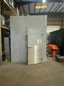 Used Walk in Cooler 7 6 w x 7 6 l x 8 6 h W New 0 75hp Refrigeration System