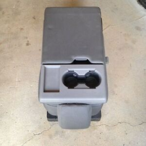 2015 2020 F150 Gray Cloth Center Console Jump Seat