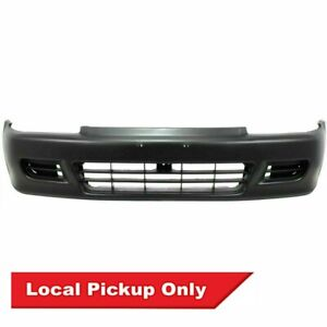 New Front Bumper Cover For 1992 1995 Honda Civic Coupe Hatchback Ho1000141