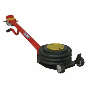 Sealey Premier Air Operated Fast Jack 3t Three Stage Long Handle Pafj3