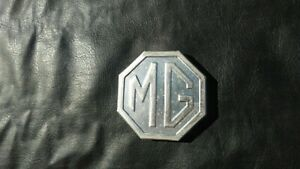 Mg Mgb Mg Midget 1970 1980 Original Metal Trunk Boot Emblem W Fastners