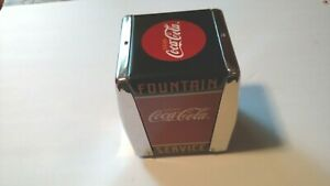 COCA COLA NAPKIN DISPENSER  ***1999 FOUNTAIN SERVICE***
