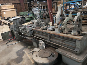 Monarch 18 x120 Geared Engine Lathe Works Great
