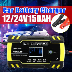 12v 24v Auto Truck Car Battery Charger Agm 5a Pulse Repair Auto Maintainer Motor