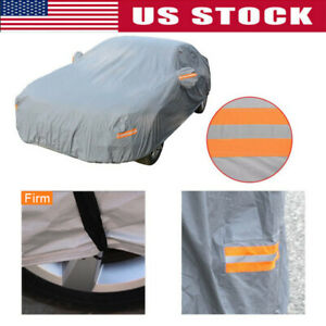 Breathable Full Car Cover Waterproof Suv All Weather Protection Sun Uv Resistant
