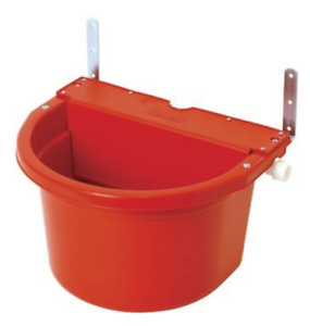 Little Giant Fw16red 4 Gal Auto Float Controlled Waterer Livestock Water Trough