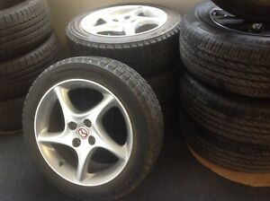 Mazda 16 X 6 4x100 Bolt Pattern Miata Wheel And Tire Package