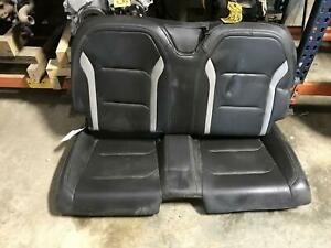 Chevrolet Camaro Ss Rear Seat Black Leather Interior 4aa 2016