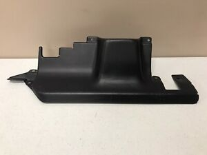 Nissan Datsun 720 Pickup Truck Under Steering Column Black Cover Guard Panel Oem