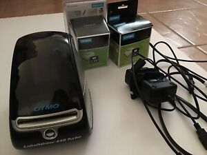 Dymo Labelwriter 450 Turbo Thermal Label postage barcode Printer W extra Labels