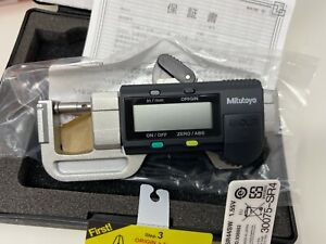 Mitutoyo 700 118 30 Digimatic Compact Digital Thickness Gage 0 5 0 12 7mm
