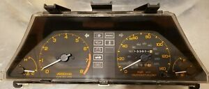 1985 Honda Crx Si Instrument Cluster 133 871 Miles 140mph Speedo Fits 85 87