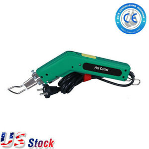 Us 110v Hot Knife Tool Hand Held Cutting Knife Hot Heat Cutter For Fabric Rope