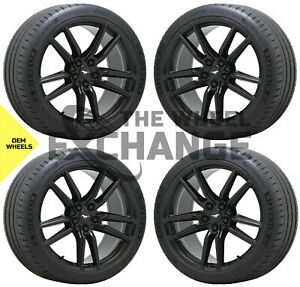 20x11 Ford Mustang Gt500 Black Wheels Rims Tires Factory Oem Set 4 2020 2021