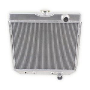 Aluminum Radiator For 1967 1970 Ford Mustang Ltd Cougar Galaxie V8 3 Row Core