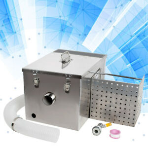 Commercial Kitchen Grease Trap Stainless Steel Interceptor Filter Kit