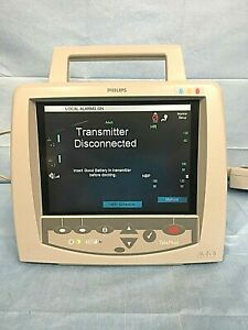 Philips M2636c Patient Telemetry Monitor Power Cord Included