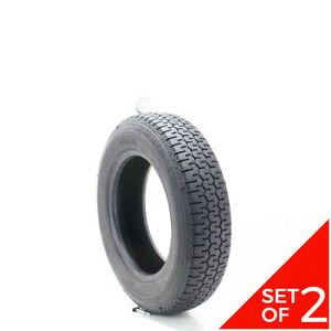 Set Of 2 Used 155r14 Michelin Xzx 80s 7 32