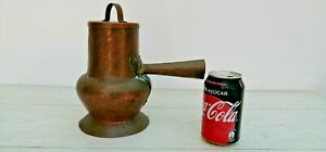 Antique Copper Jar Teapot Coffee Pot Kettle Boiler From 40 S Handicraft 11 538g