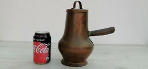 Antique Copper Jar Teapot Coffee Pot Kettle Boiler From 40 S Handicraft 11 408g