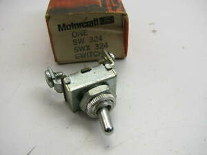 Motorcraft Sw 324 Universal Toggle Switch 2 Position 2 Terminal 10 Amp