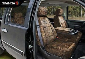 Mossy Oak Duck Blind Camo Neosupreme Tailored Seat Covers For Toyota Tacoma