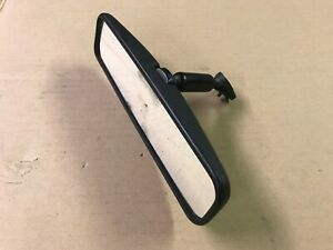 87 93 Ford Mustang Rear View Mirror Windshield Glass Factory W Tab